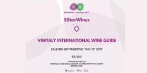 """Gió15 entra nel """"5star Wines – the Book 2021"""""""